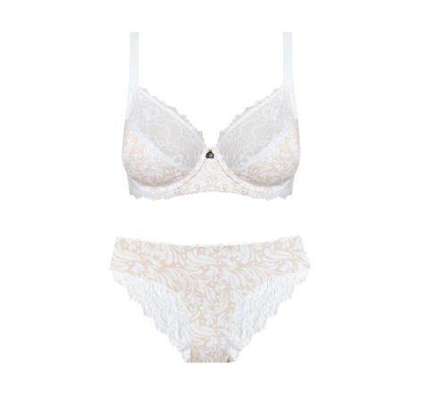 Natural Floral Bikini Set
